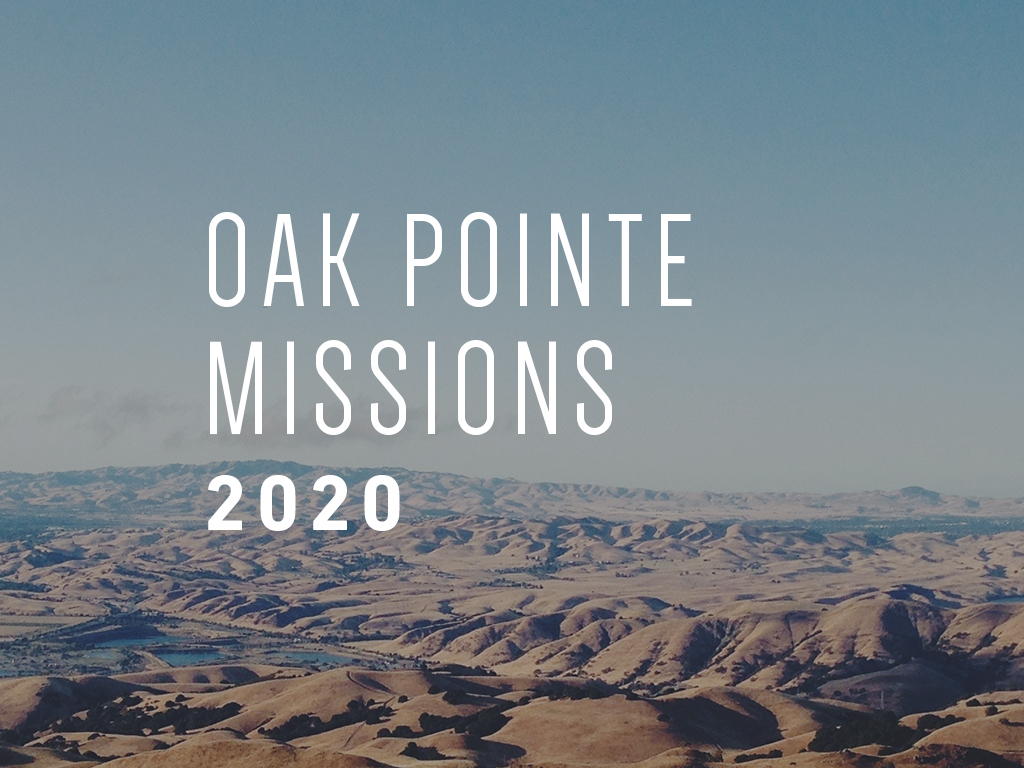 Missions Meeting at Oak Pointe